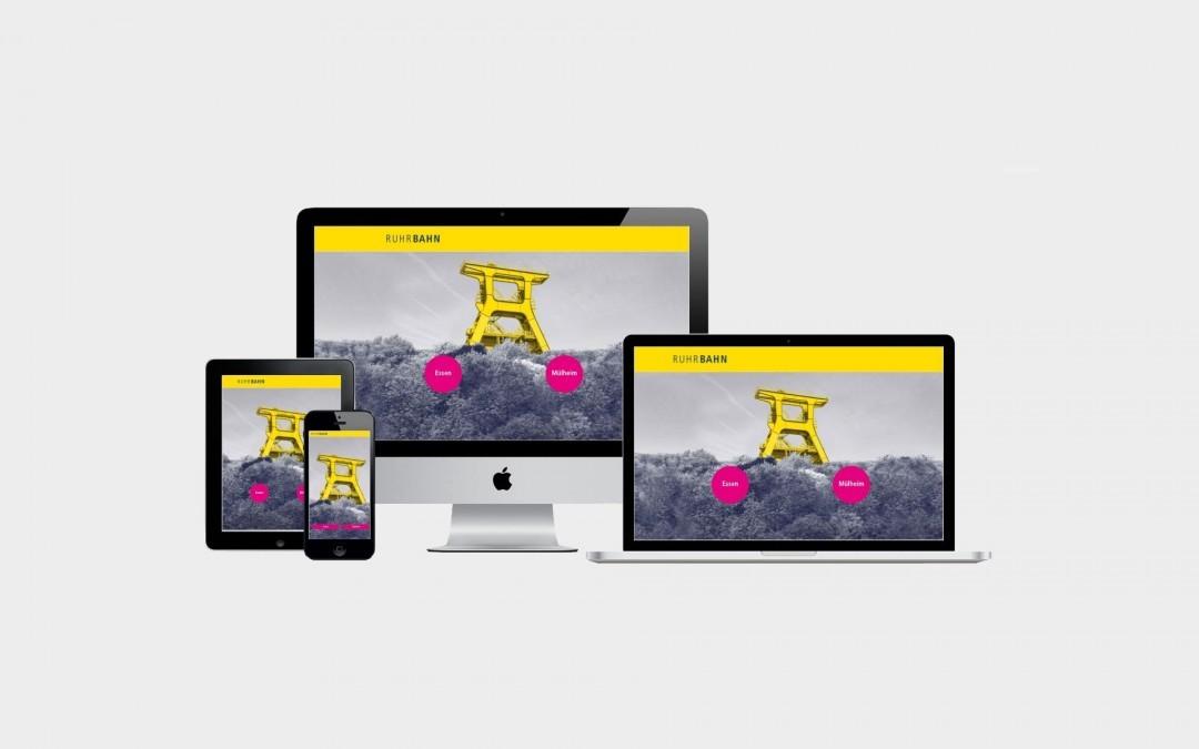 Digital unterwegs mit der neue Corporate Website der Ruhrbahn