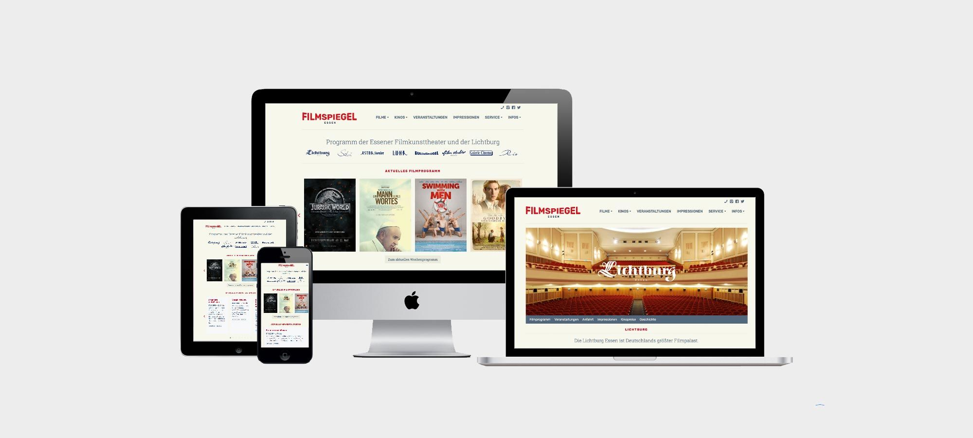 """Responsive Webseite für das Bündnis """"Starke Pflege in Münster"""""""