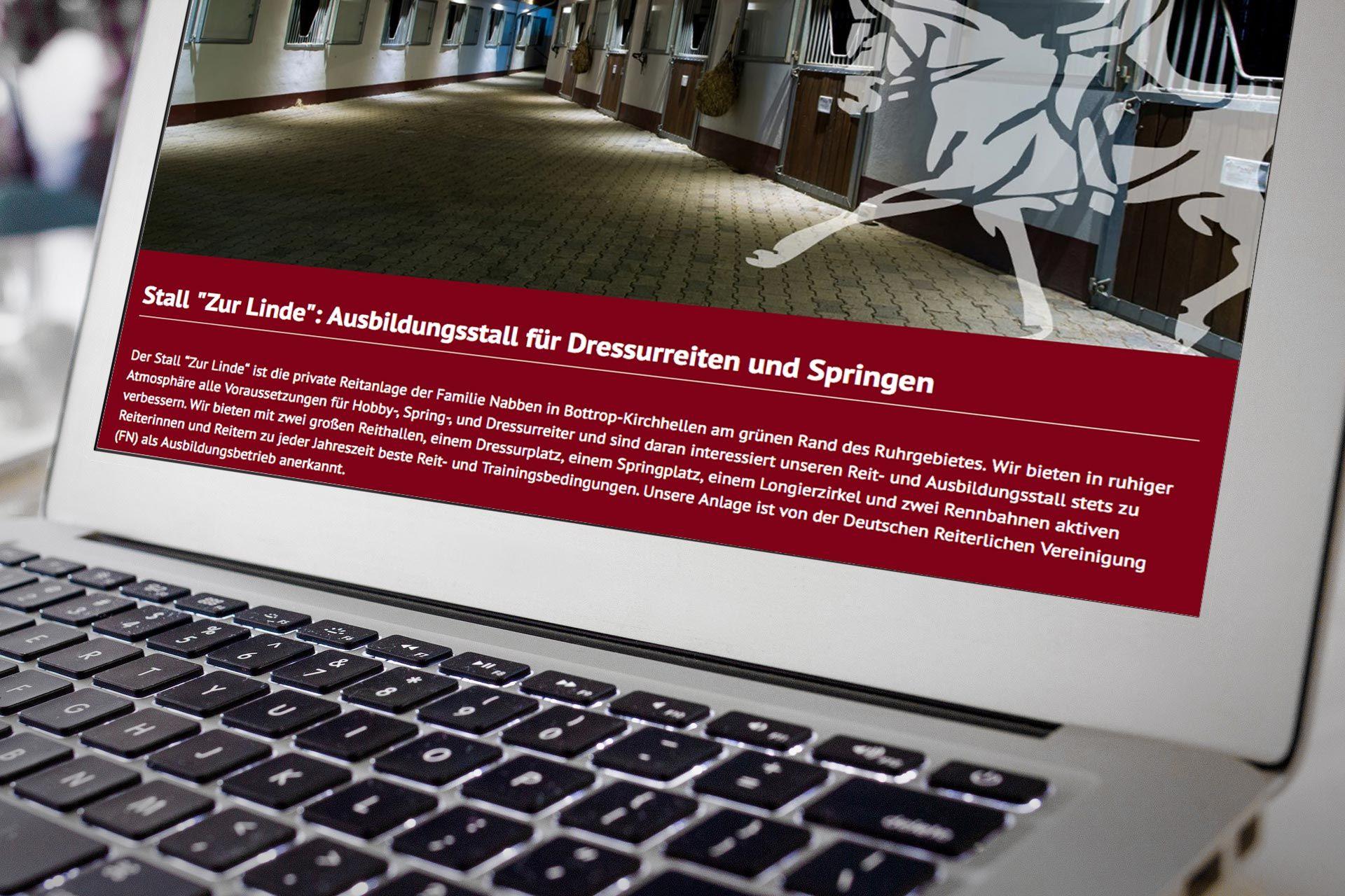 Foto: Screenshot von www.stall-zur-linde.de