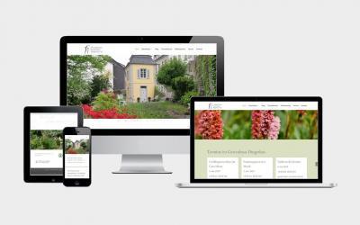 Neue Webseite für das historische Gartenhaus Dingerkus