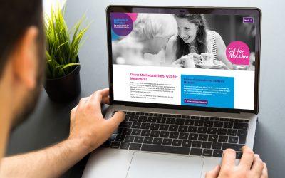 Job- und Hilfsangebote im Fokus – Website-Relaunch Diakonie Münster
